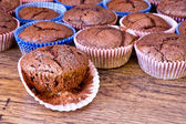Chocolat muffins — Stock Photo