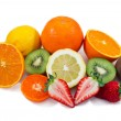 Stock Photo: Fruits with Vitamin C