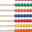 Colorful child abacus detail — Stock Photo