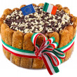 "Italian dessert ""tirami su"" — Stock Photo"