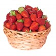 Basket of strawberries — Stock Photo