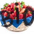 Basket of strawberries - biological — Stock Photo #24838941