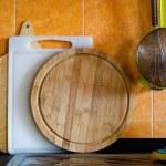 Kitchen cutting boards — Stock Photo #25904465