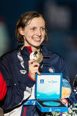Kate Ledecky ( USA) — Foto de Stock