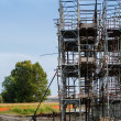 Scaffold setup — Stockfoto