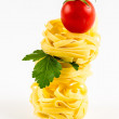 "Stock Photo: Italipastcalled ""tagliatelle"""