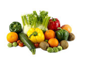 Mixed colorated vegetables — Stock Photo