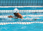 Breaststroke — Foto Stock