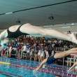 MILAN -AUGUST 2: swimmers  starting  in Swimming Race on August — Stock Photo #50648107