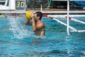 Water polo players — Stock Photo