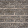 Stock Photo: Gray brick wall