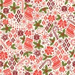 Royalty-Free Stock Vector Image: Christmas seamless pattern