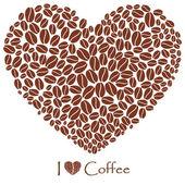 Patrón sin costuras café — Vector de stock