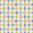 Floatfish seamless pattern — Stock Vector