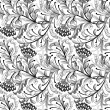 Royalty-Free Stock Imagem Vetorial: Seamless floral pattern
