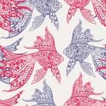 Fish seamless pattern — Stock Vector #22661355