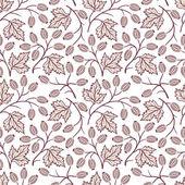 Seamless floral pattern — Stock vektor