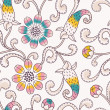 Seamless floral pattern — Stock Vector #23270160