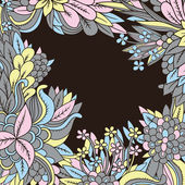 Floral background — Vetorial Stock