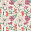 Seamless floral pattern — Stock Vector #29334455