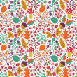 Autumn seamless pattern — Stock Vector #29810405