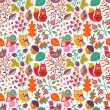 Autumn seamless pattern — Stock Vector #29987339