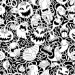 Halloween seamless pattern — Stock Vector