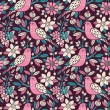Seamless floral pattern — Stock Vector #34933847