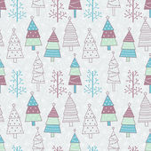 クリスマスのシームレスなパターン — ストックベクタ