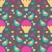 Romantic seamless pattern — Cтоковый вектор