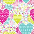 Hearts seamless pattern — Stock Vector #39585021