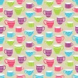 Cups seamless pattern — Stock Vector #49248423