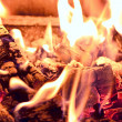Embers in fire — Stock Photo #14594249