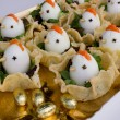deviled eggs — Stock Photo