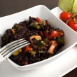 Stock Photo: Black rice