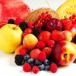 Composition of fruits — Stock Photo