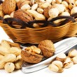 Varieties of nuts — Stock Photo #14137282