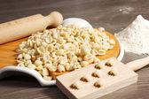 Färsk italiensk pasta — Stockfoto