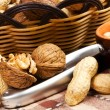 Varieties of nuts — Stock Photo #14141032