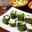 Sushi on the table — Stockfoto
