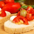 Bruschette — Stock Photo