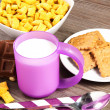 Breakfast on the table - Stock Photo