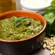 Stock Photo: Pesto sauce