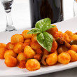 Stock Photo: Gnocchi