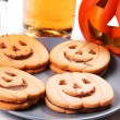 Halloween biscuits — Foto Stock