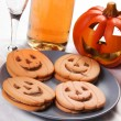 Halloween biscuits — Stock Photo #14222211