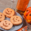 Halloween biscuits — Foto de Stock