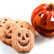 Stock Photo: Halloween biscuits