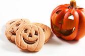 Halloween biscuits — Stock Photo