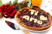 San valentine cake — Stock Photo